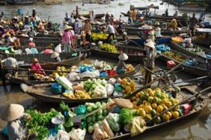 Mekong Floating Markets