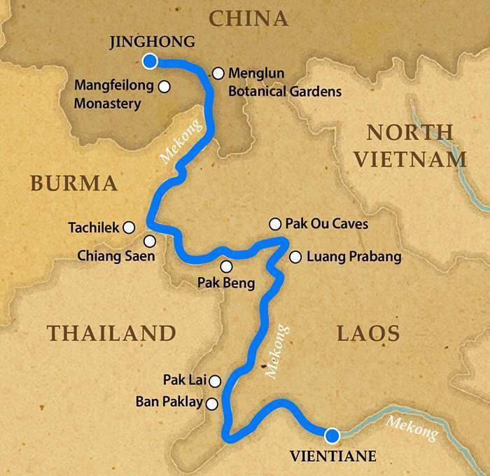 Laos to China RV Pandaw Cruise Photos