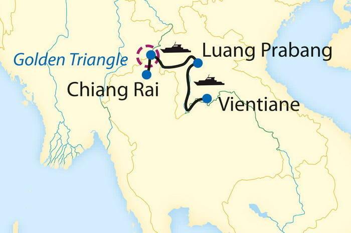 Vientiane to Chiang Rai by Mekong Sun Photos