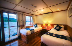 dELUXE cABIN Pandaw Cruise